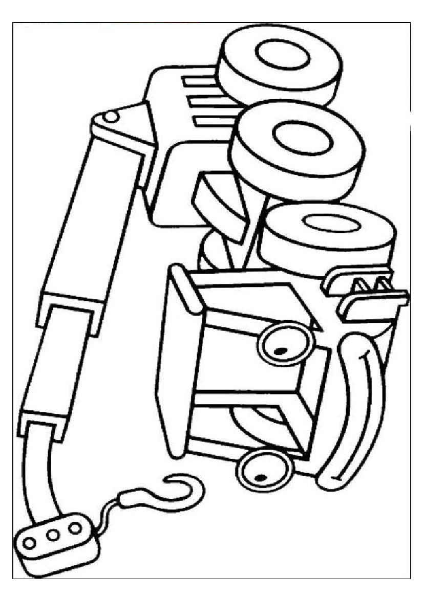 Bob the builder coloring pages to download and print for free