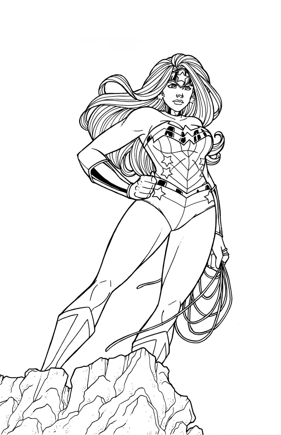 Clip Art Wonderwoman Coloring Page wonder woman coloring pages to download and print for free mickey mouse musketeer pages