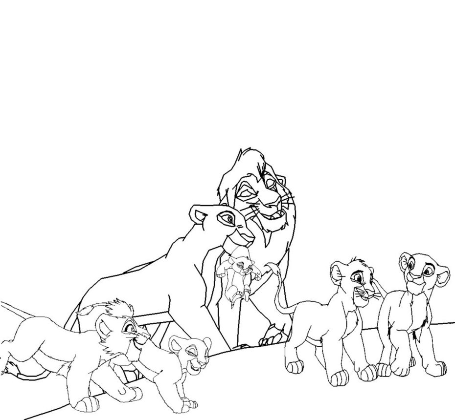 Kovu coloring pages download and print for free