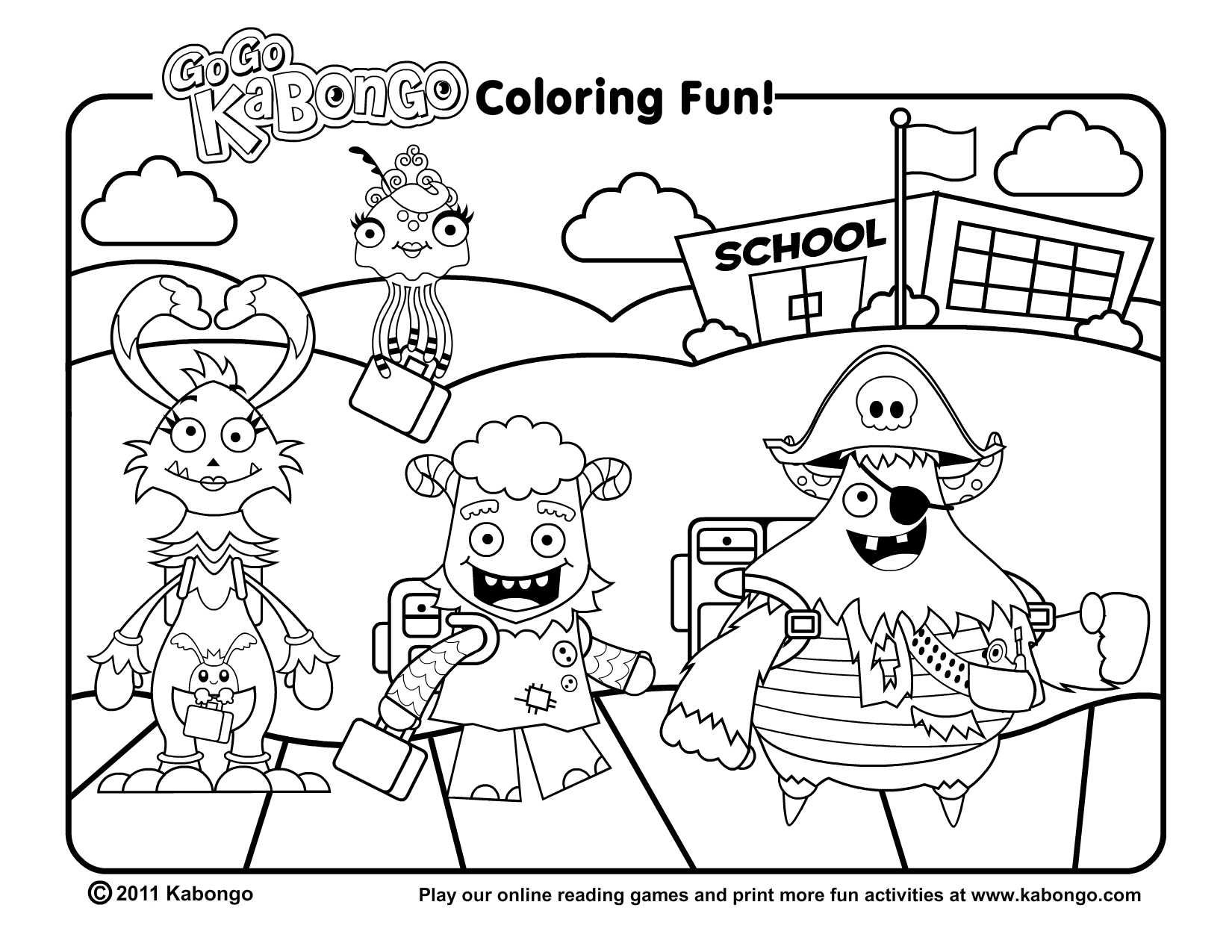 september printable coloring pages - photo#9