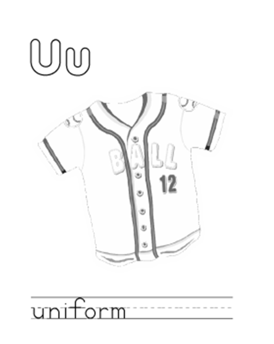Uniform coloring pages download