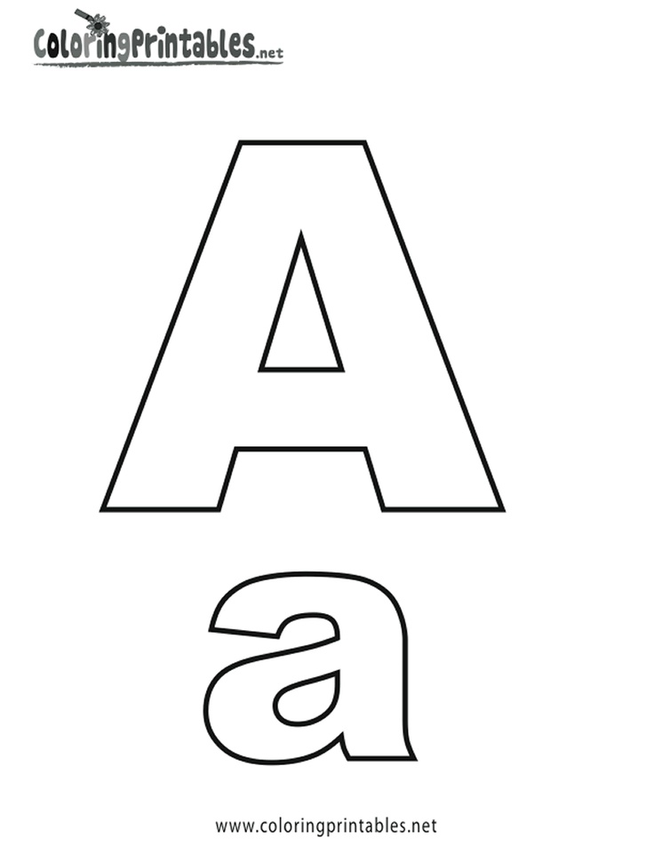 free printable alphabet letters alphabet flash cards coloring pages and print for 1252