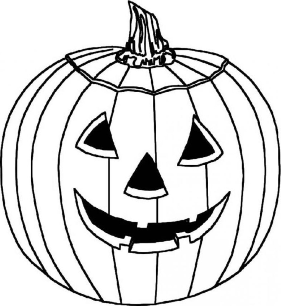Clip Art Coloring Pages Of A Pumpkin pumpkin coloring pages to download and print for free pages