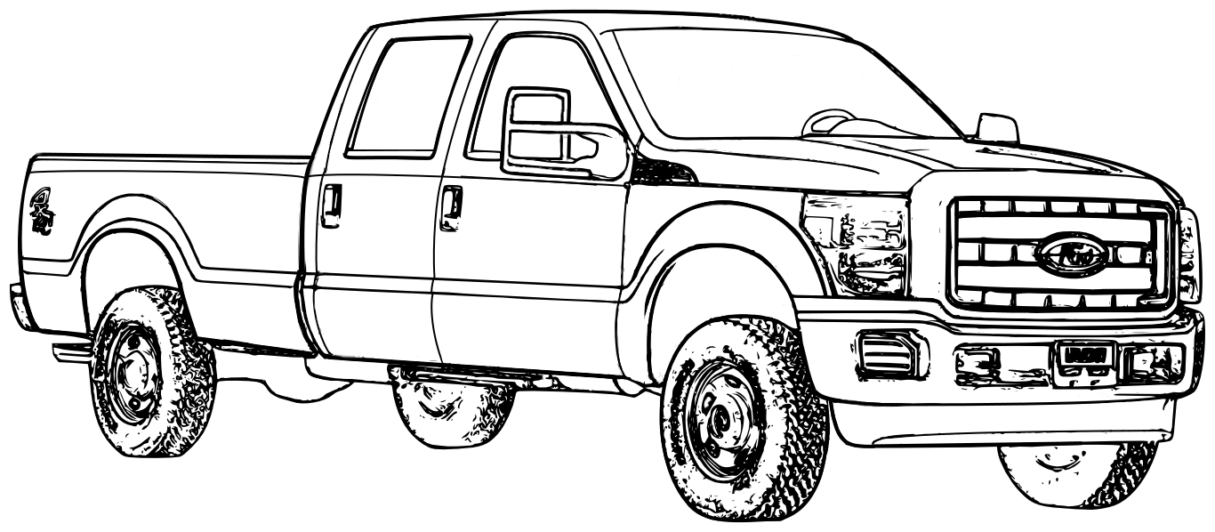 Coloring pages free printable trucks - Chevy Silverado Coloring Pages Coloring Coloring Pages Disney Truck Coloring Pagestruck Printable Coloring Pages Free