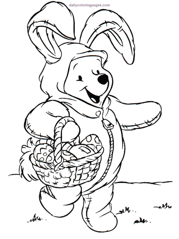 disney coloring pages easter - photo#14