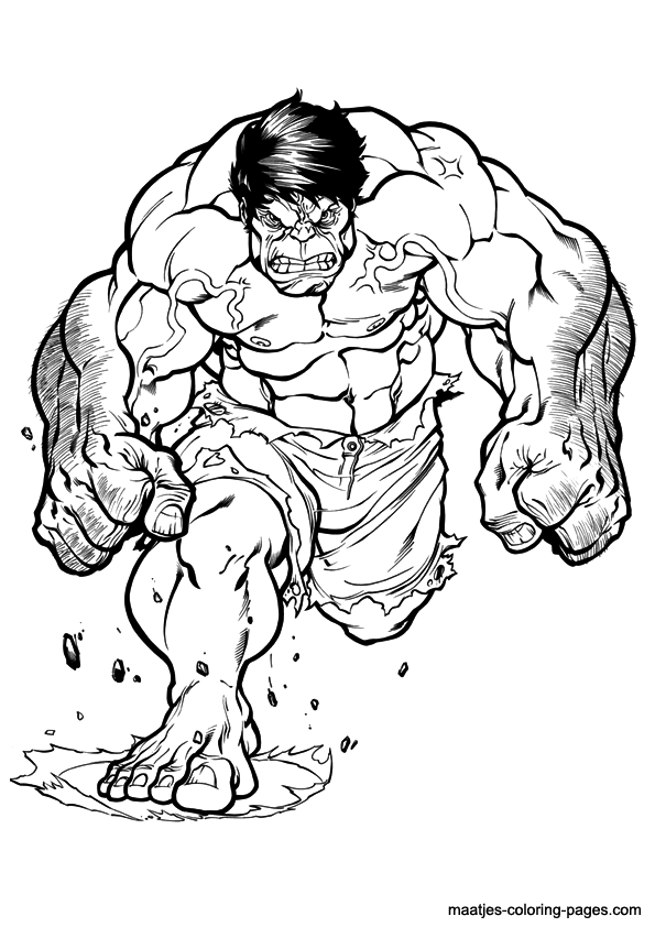 Pokemon Pikachu Kleurplaat Hulk Cartoon Coloring Pages Download And Print For Free