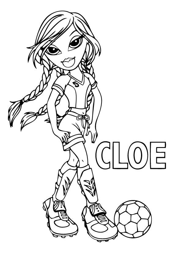 Big bratz coloring pages download and print for free