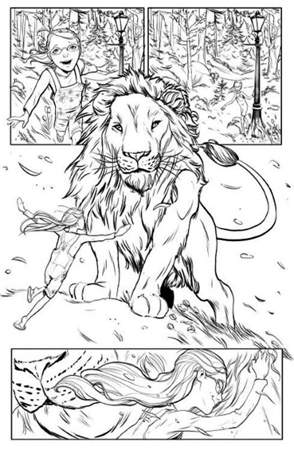 narnia coloring pages free - photo#2