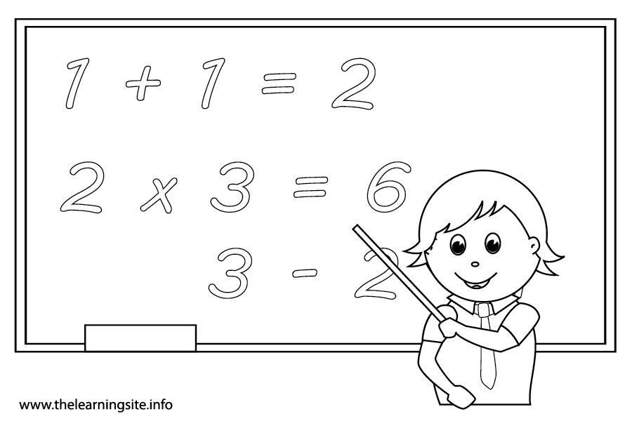 Math coloring pages to download