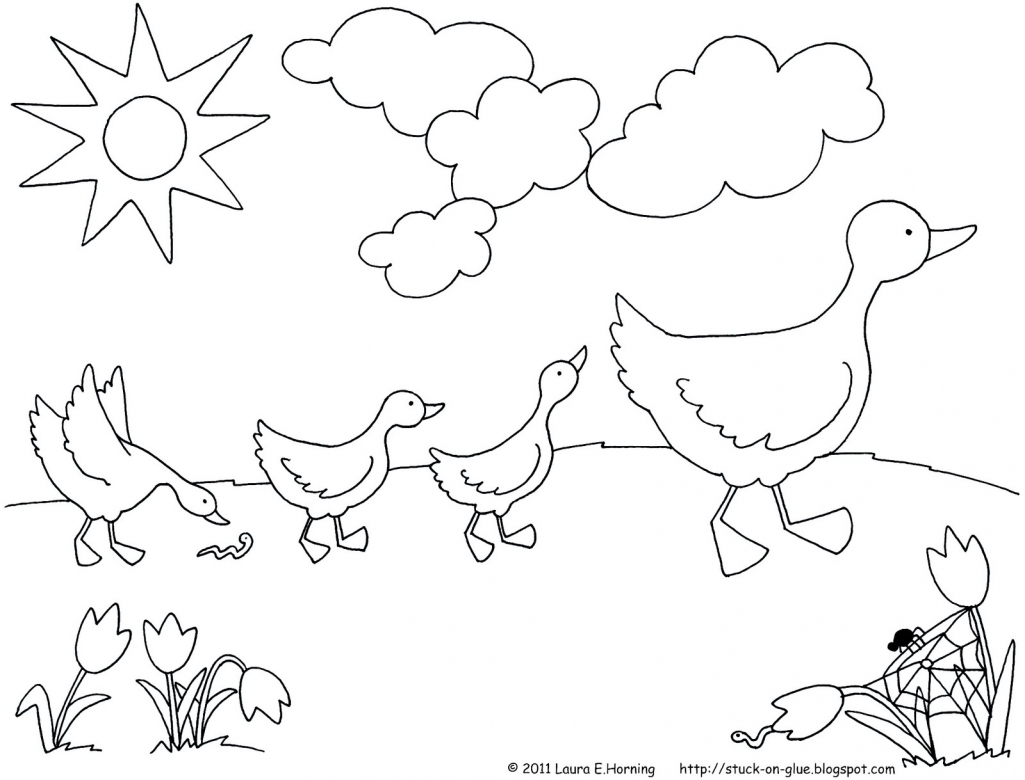 March coloring pages to download