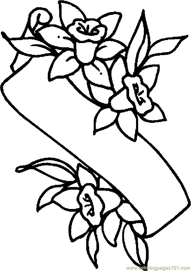 printable coloring pages lily - photo#15