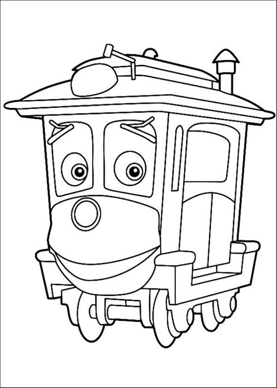 This is an image of Mesmerizing chuggington coloring pages