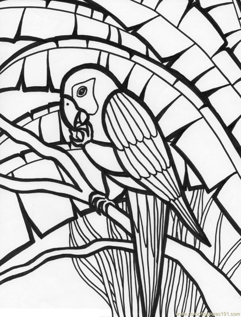 Printable coloring pages jungle - Jungle Coloring Pages