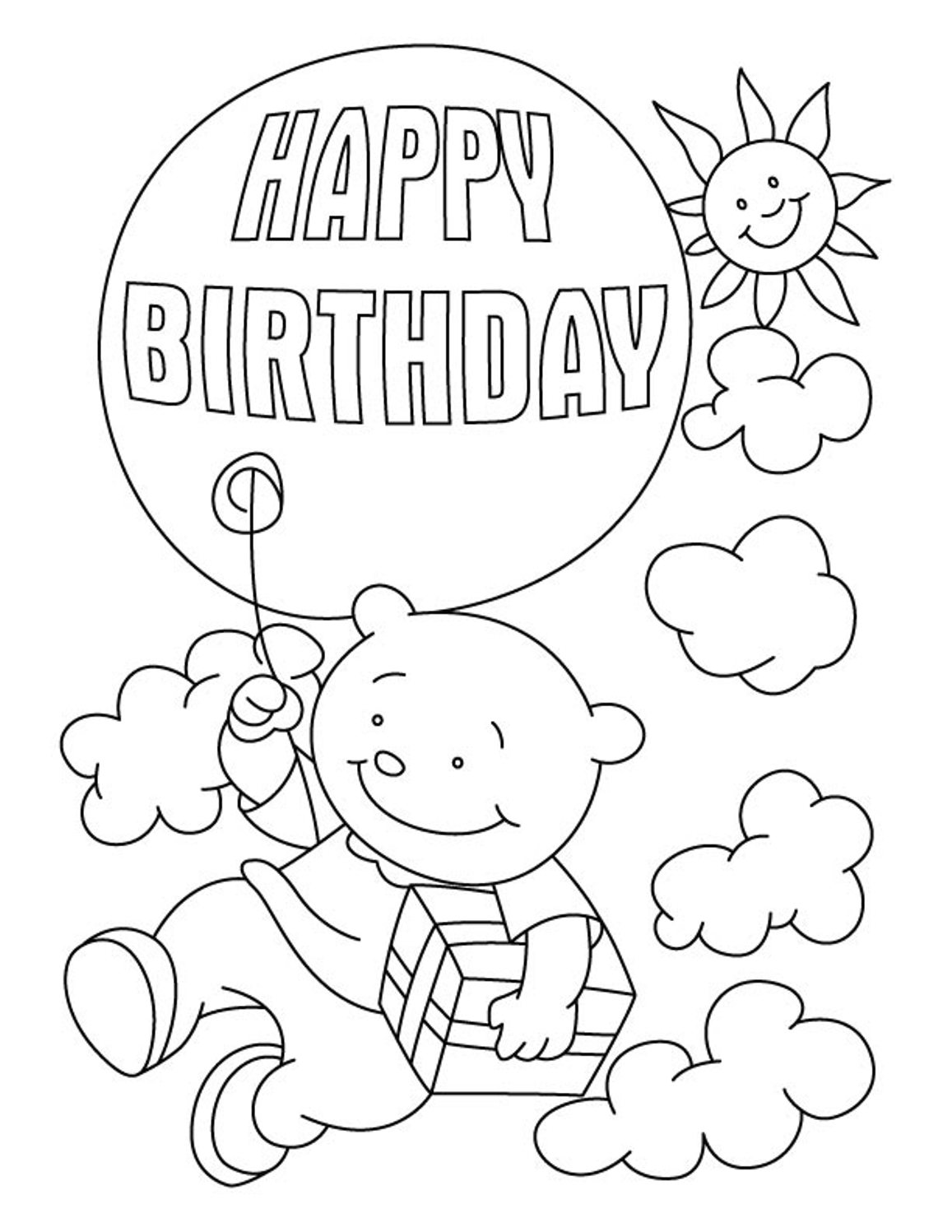 This is a graphic of Juicy Birthday Coloring Pages Free
