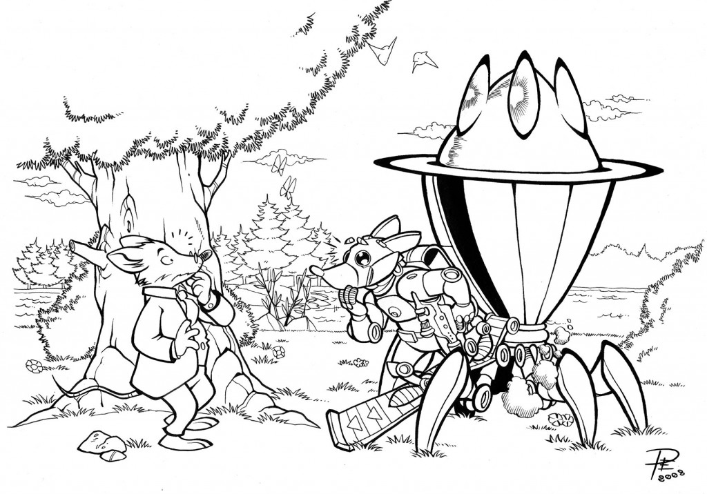 Coloring: Geronimo Stilton Coloring Pages To Download And Print For Free