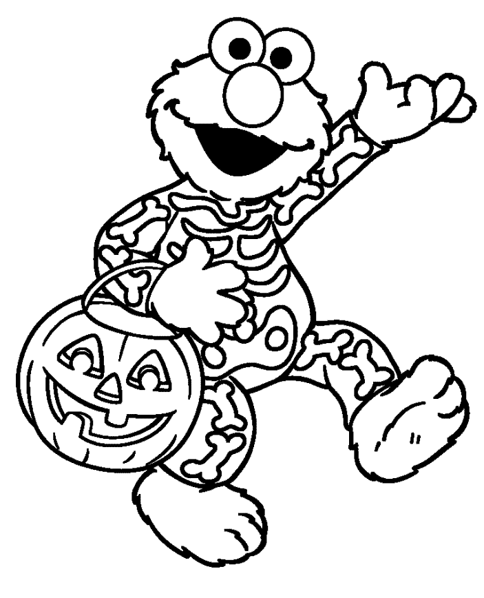 Elmo coloring pages to download