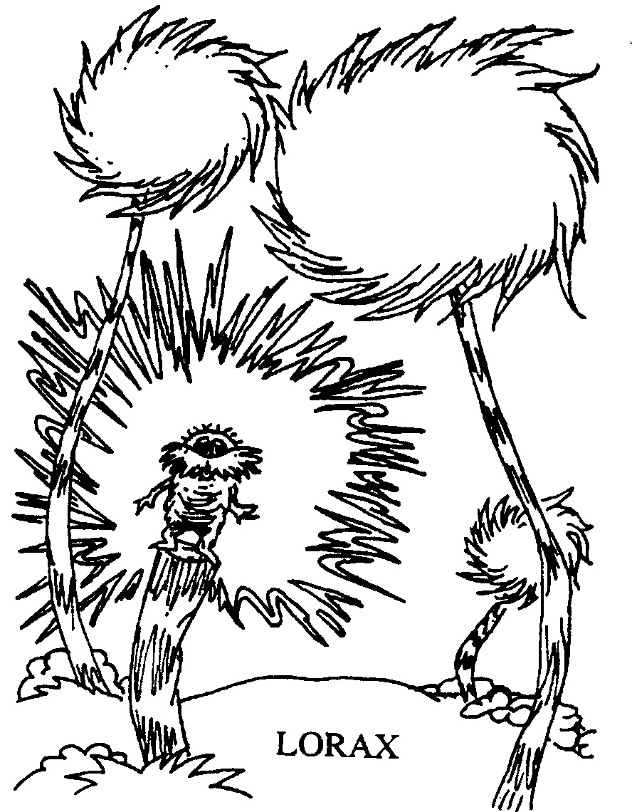 Dr Suess Coloring Pages To Download And Print For Free