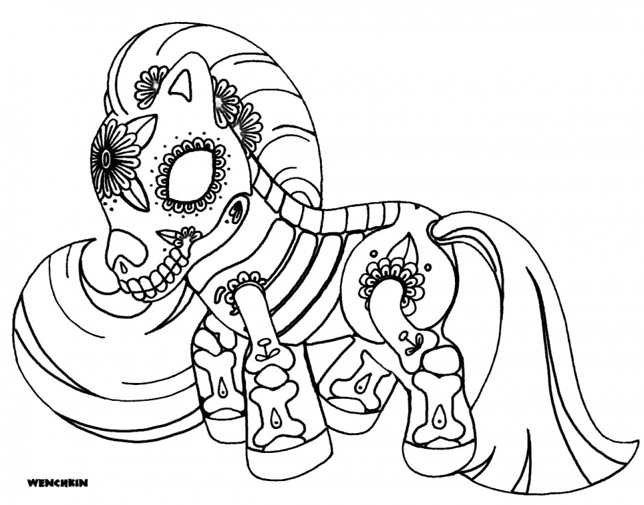 morbid coloring pages - photo#24