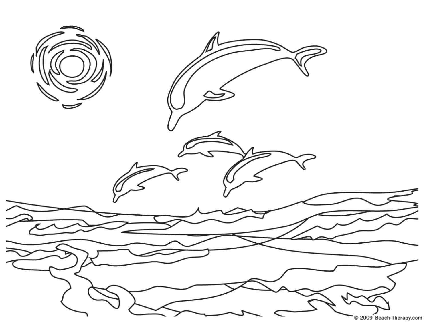 beach coloring pages to download and print for free