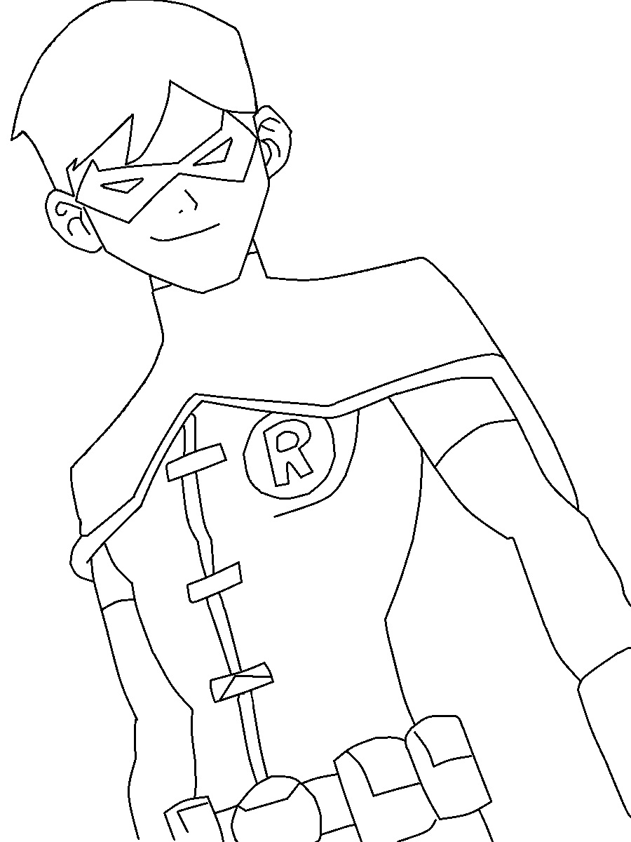 Batman And Robin Coloring Pages To Download And Print For Free
