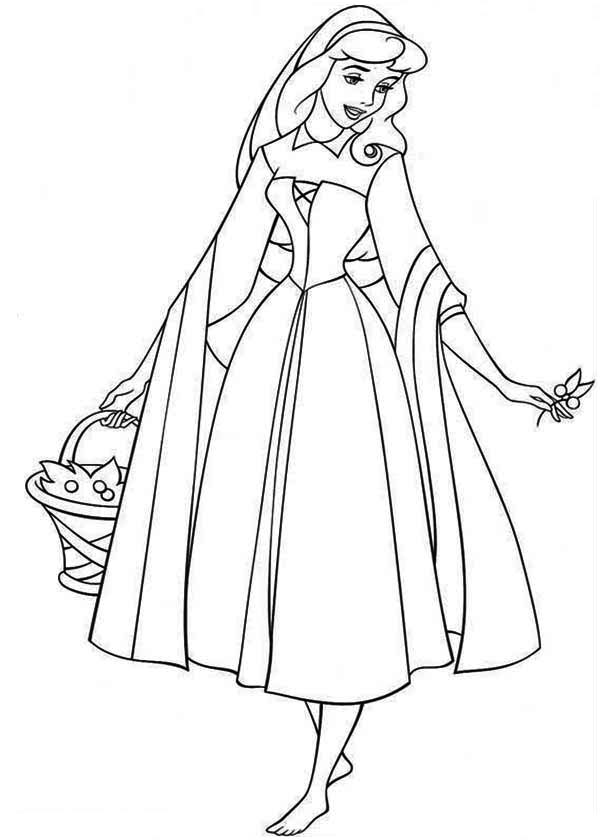 free printable aurora coloring pages - photo#23