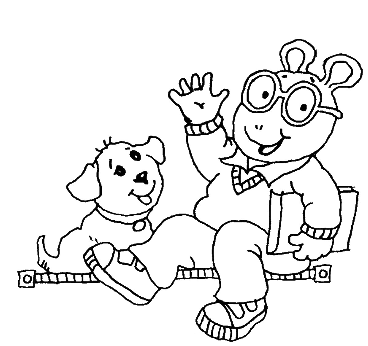 Arthur Coloring Pages Kidsuki