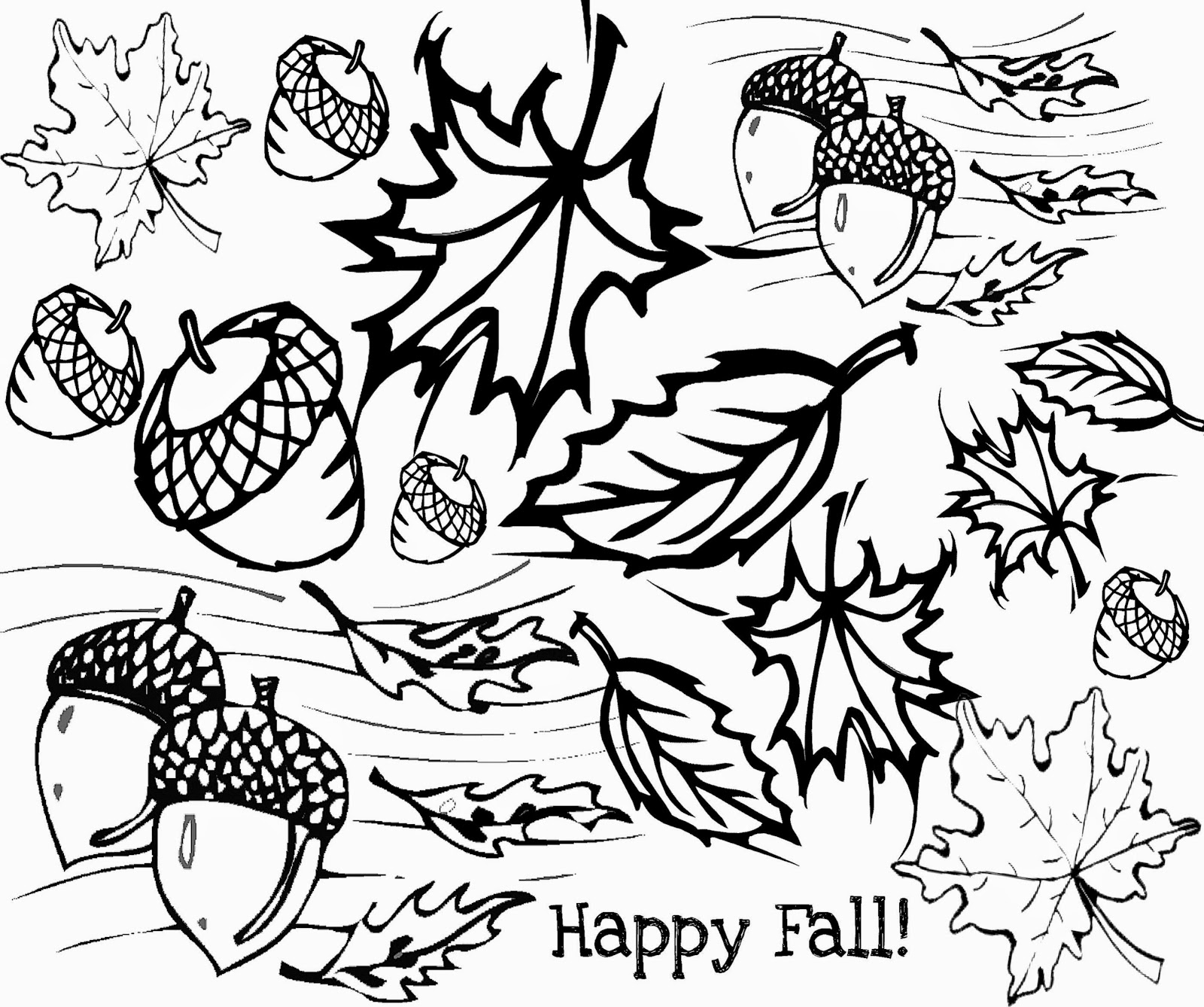 Fall Trees Coloring Pages Adult - Worksheet & Coloring Pages