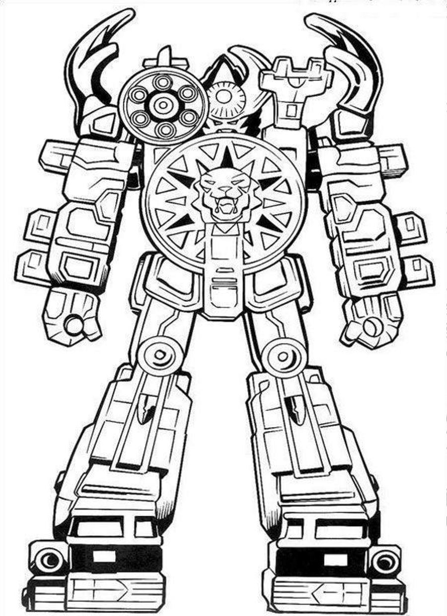 robot monster coloring pages - photo#34