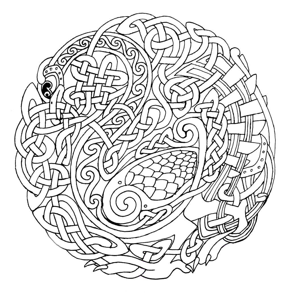 coloring pages celtic - photo#12