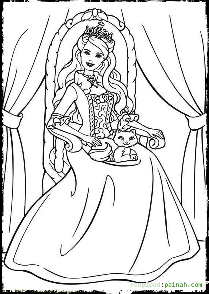 queen coloring pages and print for camila