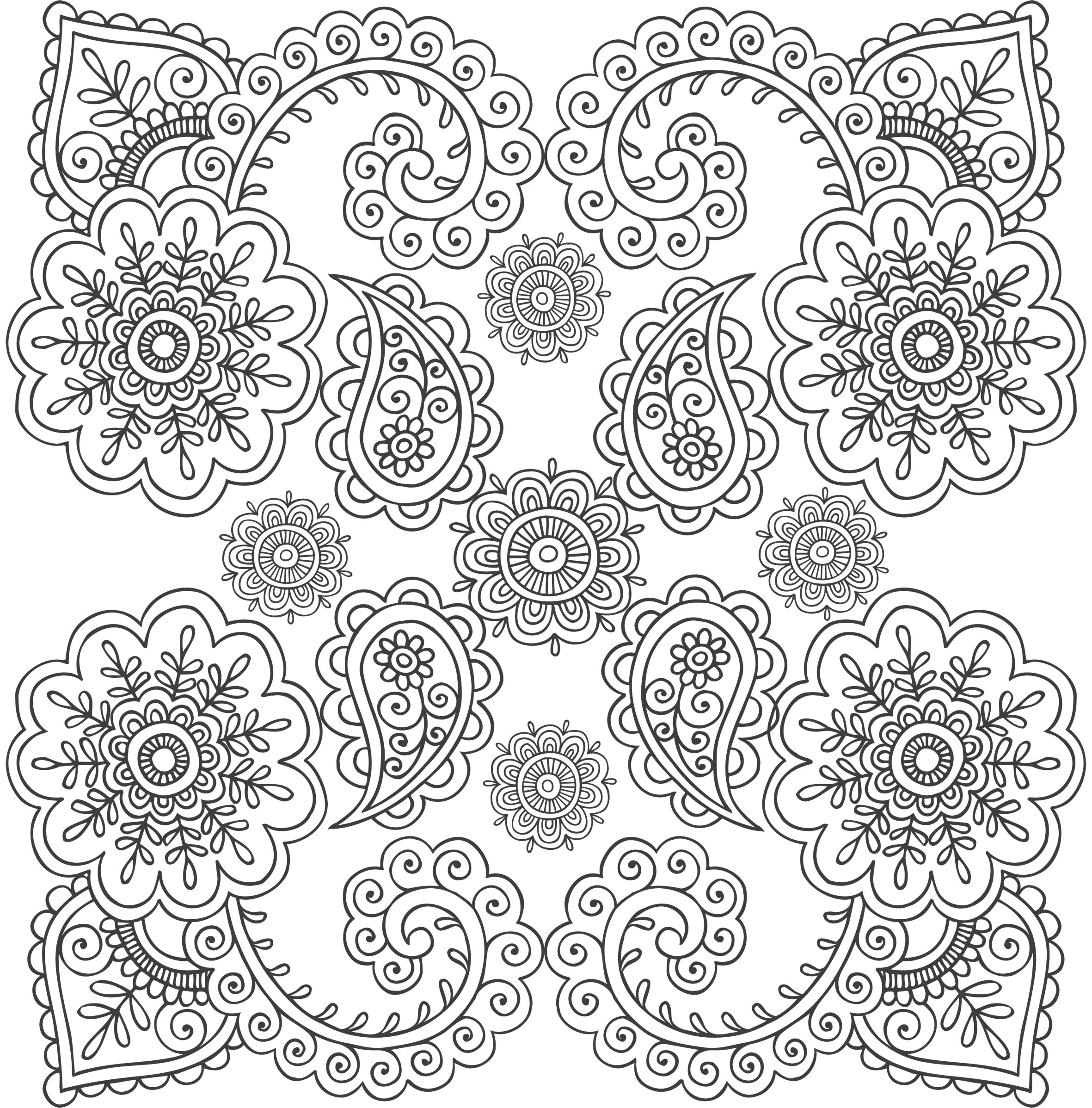 Stress relief coloring pages for kids - Stress Coloring Pages