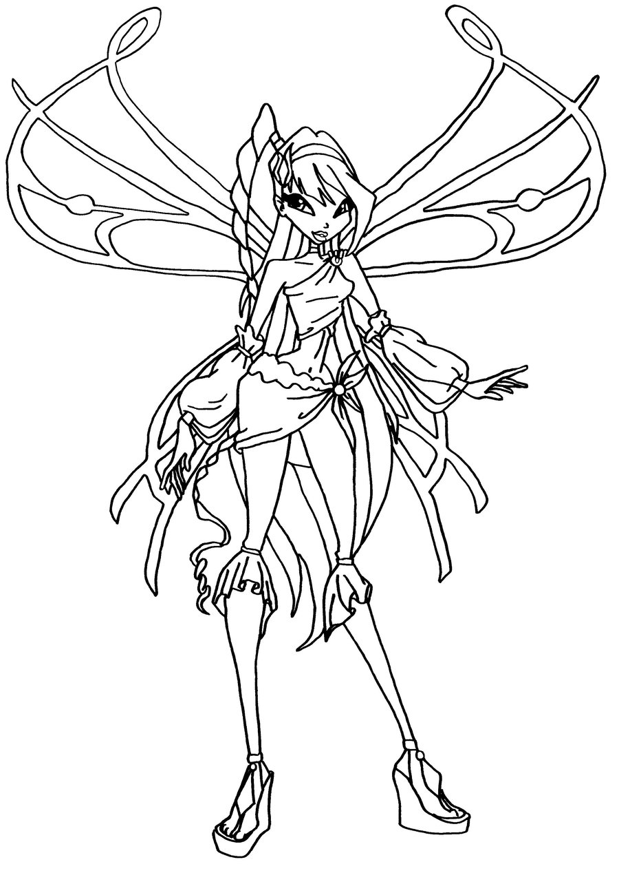 Musa winx coloring pages download
