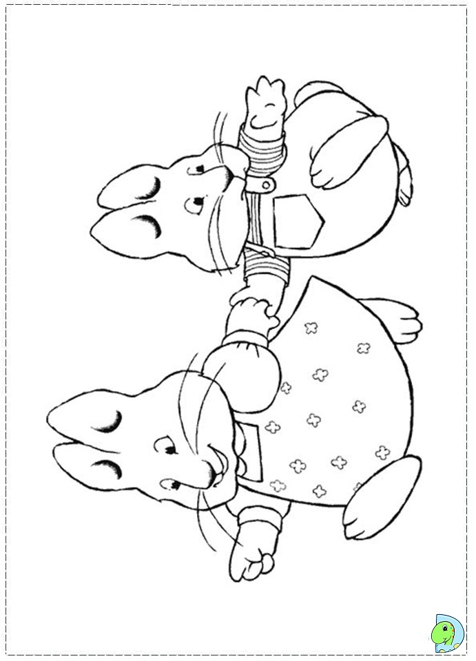 Max ruby coloring pages download