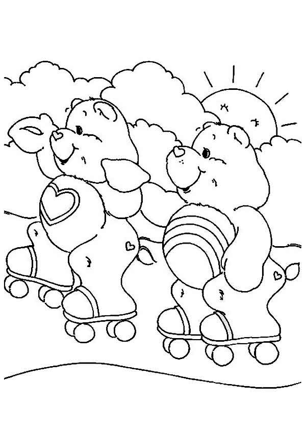 Cheer Bear Coloring Pages