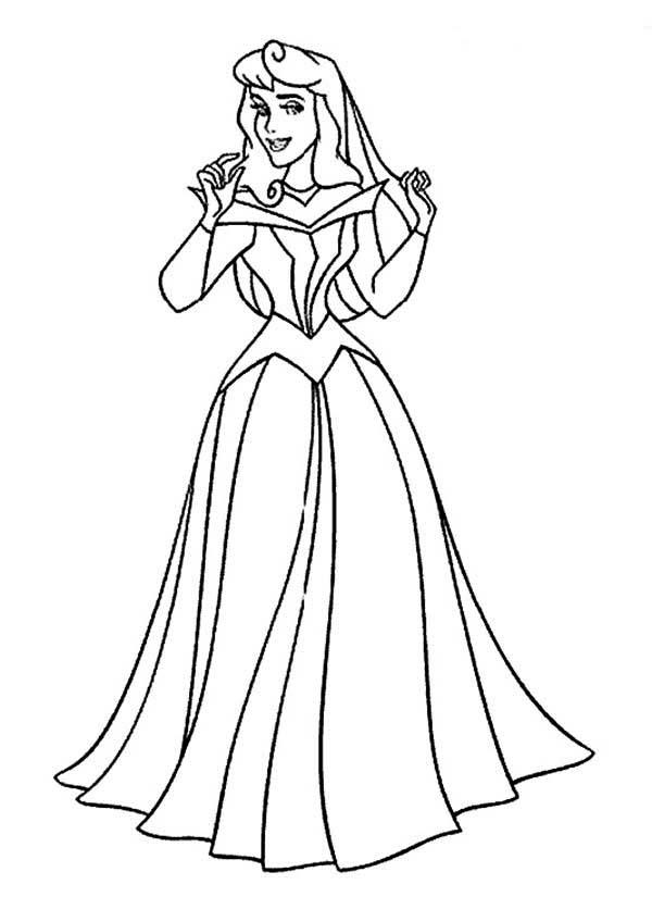 free coloring pages princess aurora - photo#26