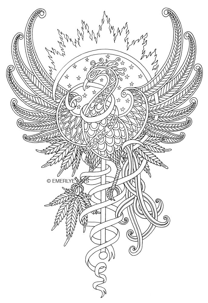 coloring pages of phoenix - photo#9