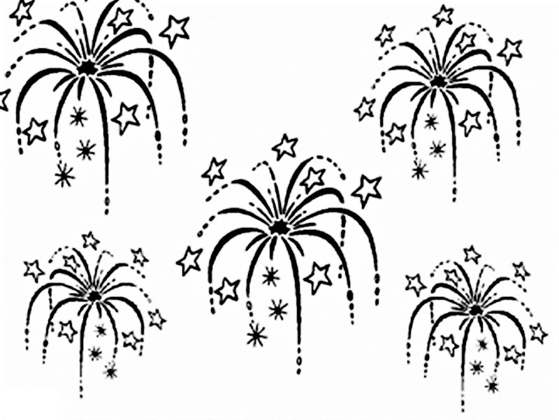 fireworks coloring pages something to color free printable