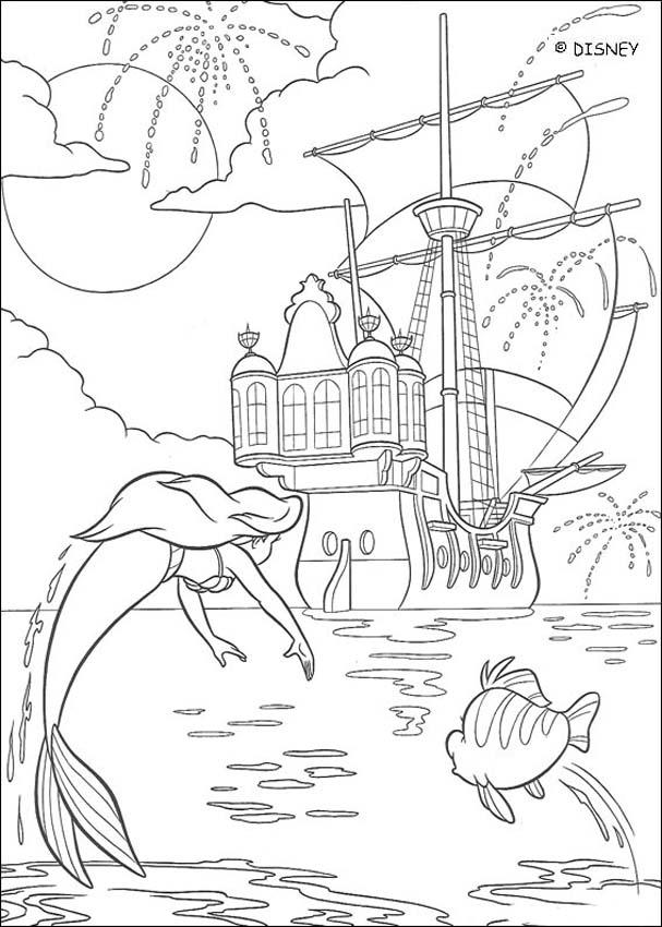 Ursula Coloring Pages To Download And Print For Free