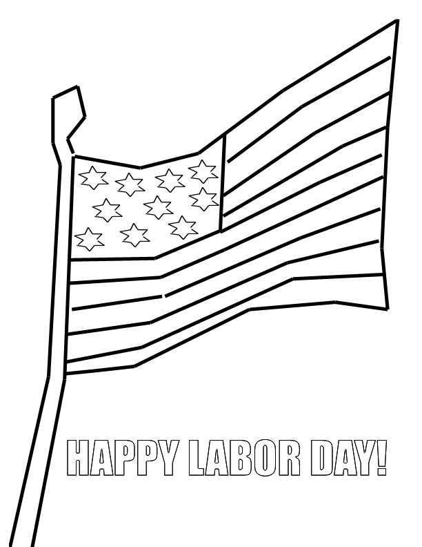 Labor Day 2017 Coloring Pages  Coloring Pages For Kids and All Ages