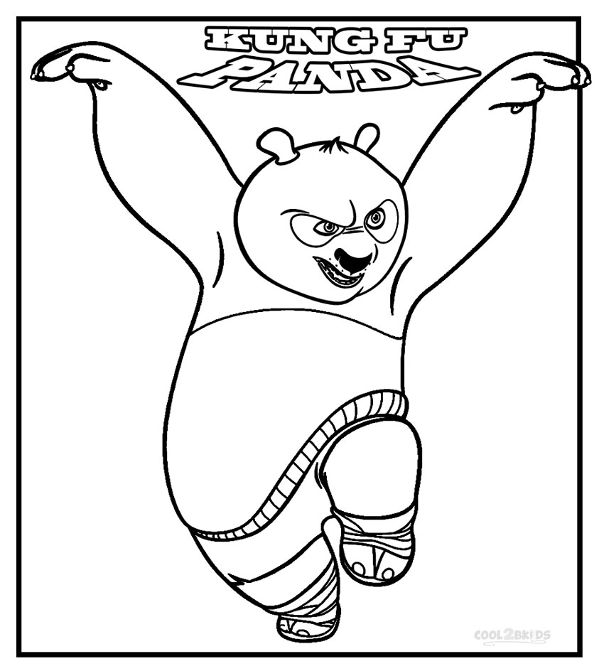 Kung fu panda coloring pages to download and print for free for Wallykazam coloring pages