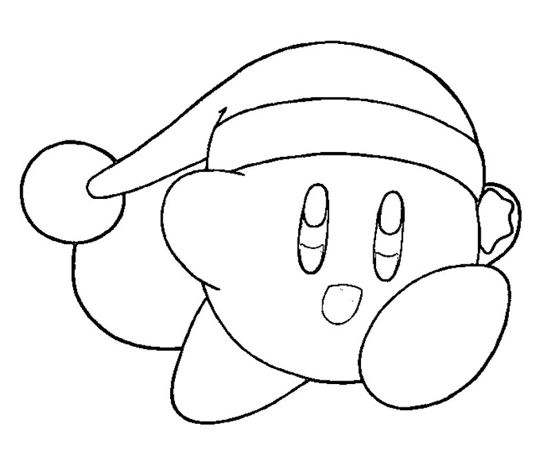 Kirby coloring pages to download