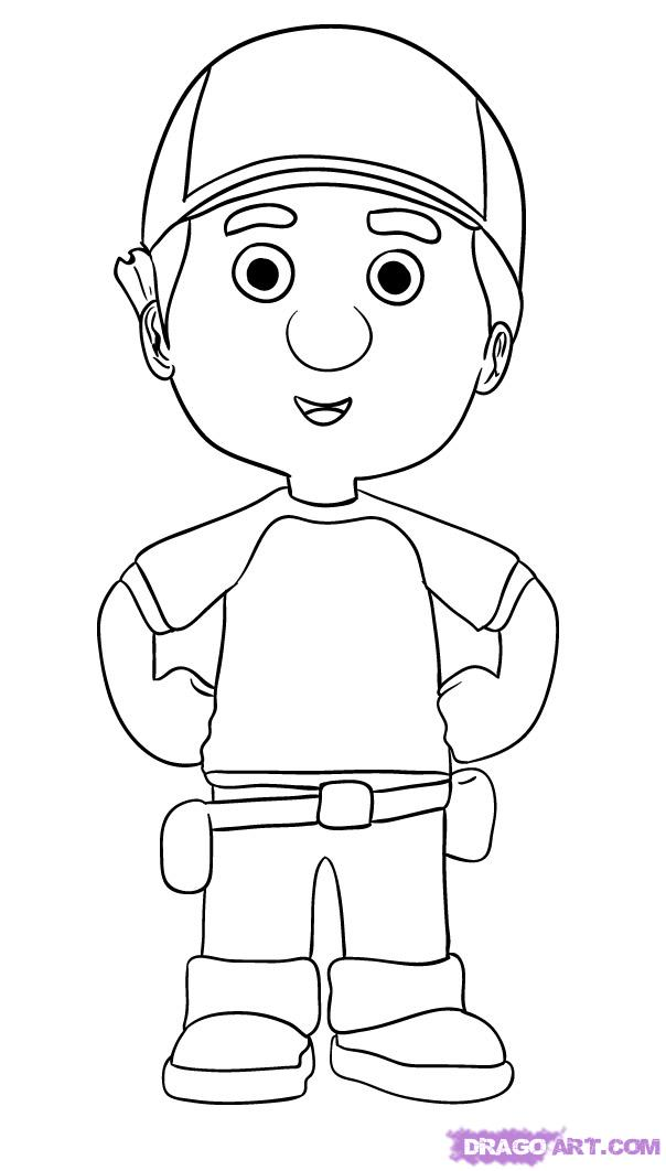 handymanny coloring pages - photo#12