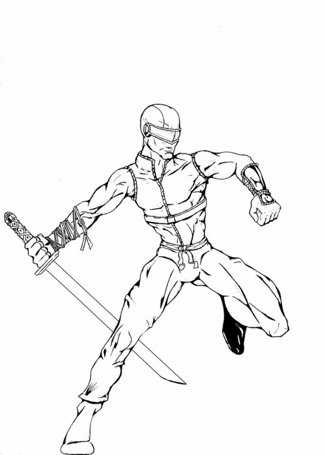 Gi joe coloring pages to download