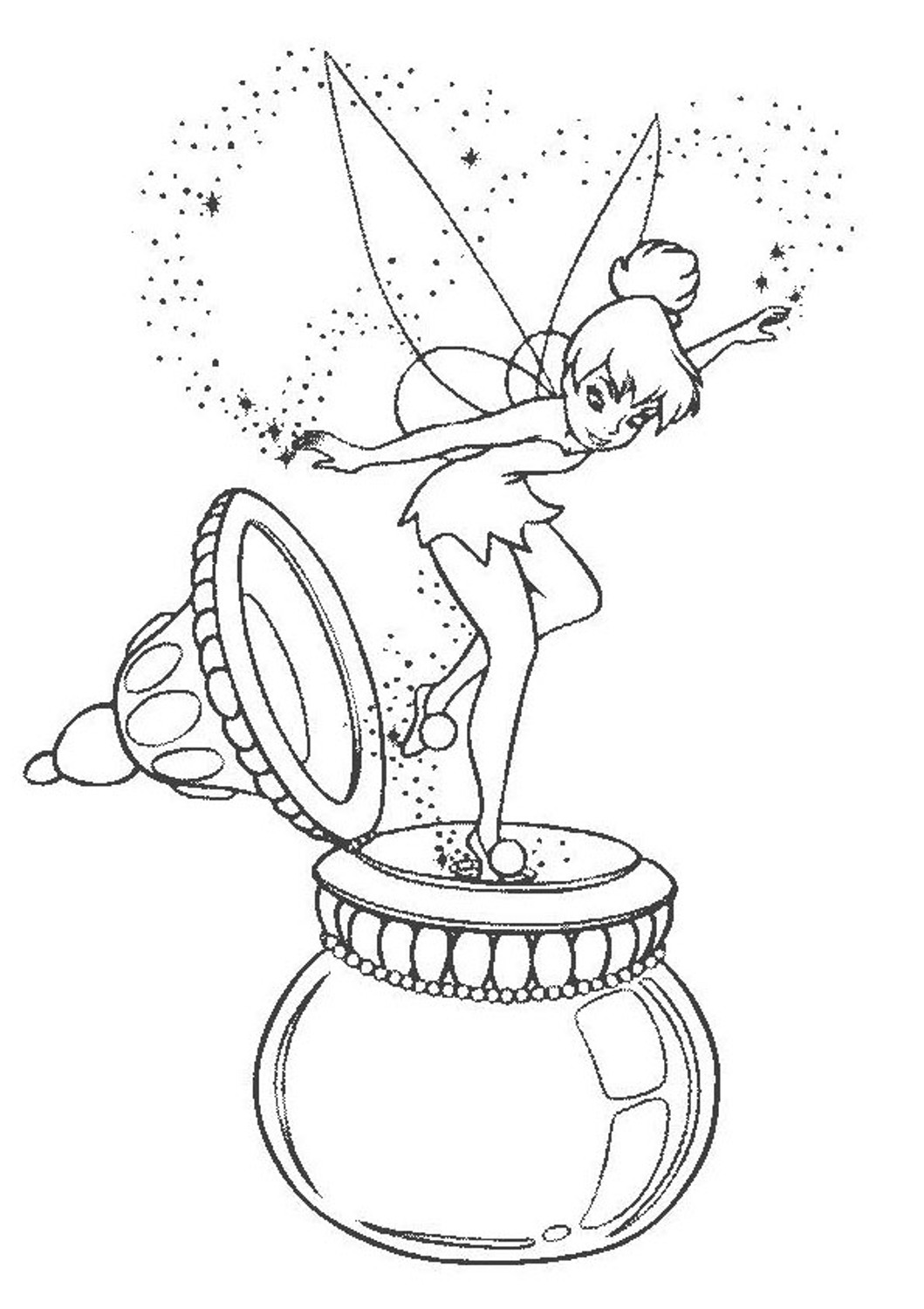 Coloring Pages Tinkerbell Coloring Pages To Print tinker bell coloring pages to download and print for free pages