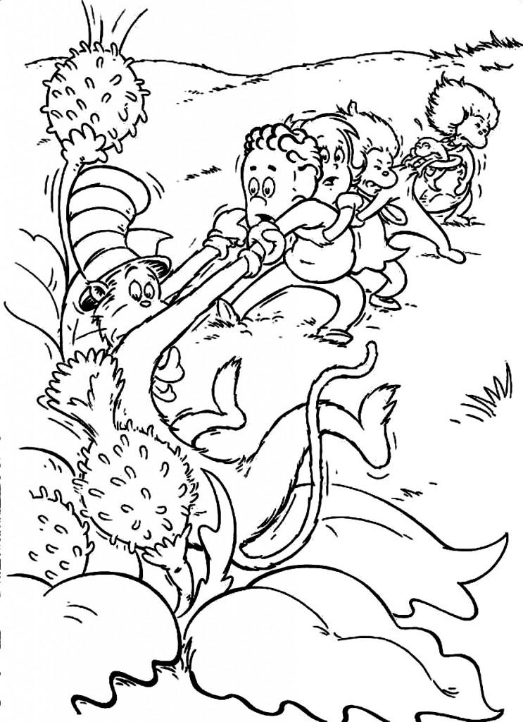 whoville coloring pages print - printable coloring pages - Dr Seuss Printable Coloring Pages
