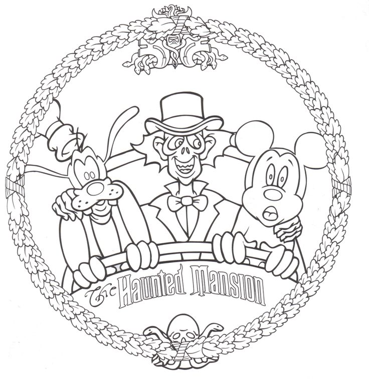 disneyland coloring pages free printable - photo#7