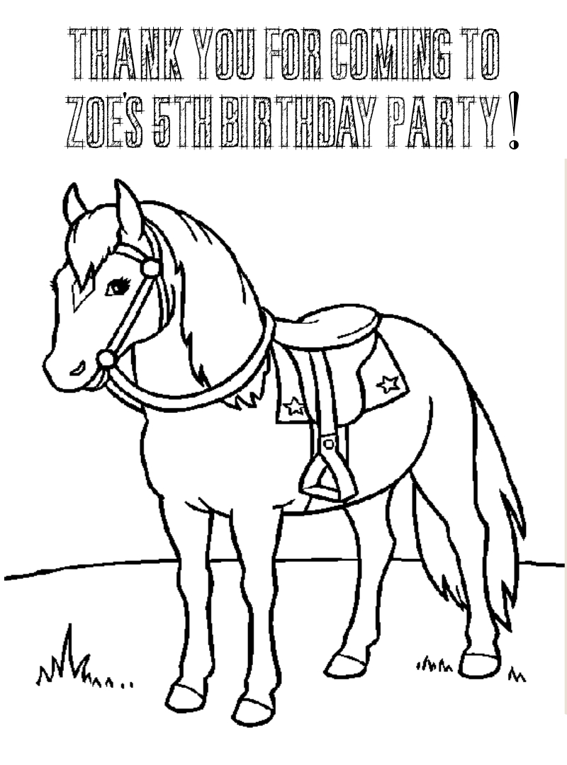 cowgirl princess coloring pages - photo#4