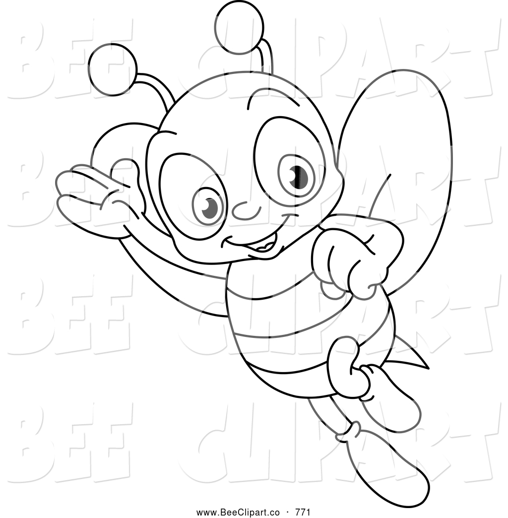 bee coloring pages - bee coloring pages to download and print for free