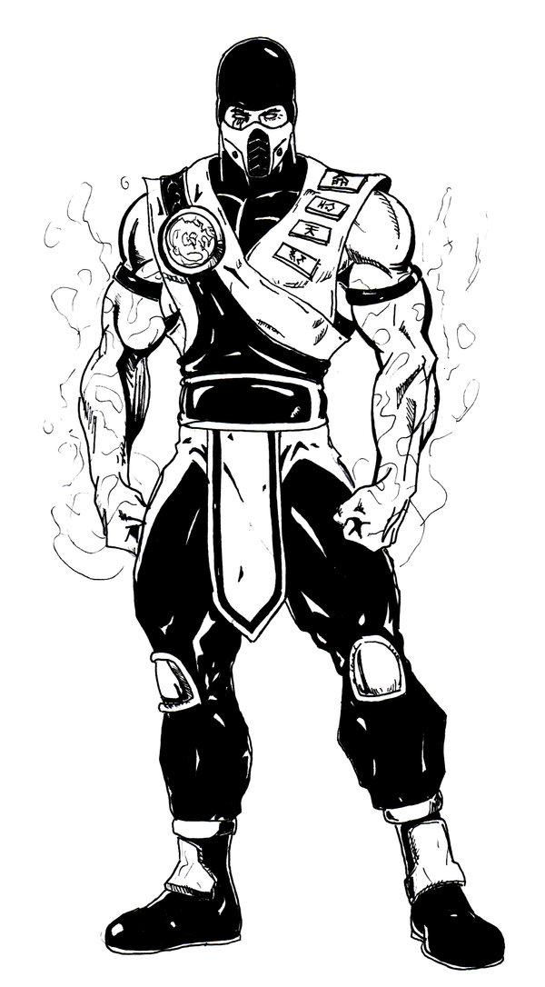Sub Zero Coloring Pages Download And Print For Free