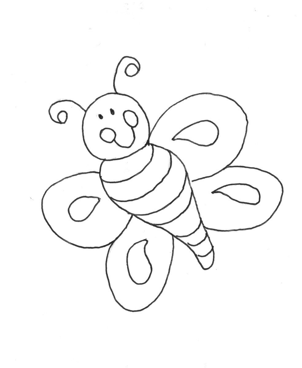 Spring bug coloring pages download and print for free